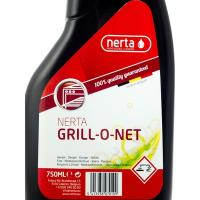 Средство для удаления жира и нагара (жироудалитель) 750мл концентрат без запаха GRILL.NET курок BELGIUM 1/12