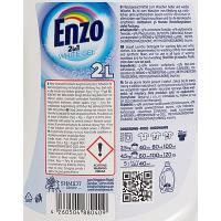 Средство для стирки жидкое 2л для белых тканей DELUX WHITE ENZO 1/6