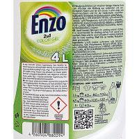 Средство для стирки жидкое 4л для цветных тканей DELUX COLOR ENZO 1/4