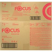 Полотенце бумажное листовое 2-сл 200 лист/уп*20 225х240 мм Z-сложения быстрорастворимое FOCUS EXTRA БЕЛОЕ HAYAT 1/1 (арт. 5048677)