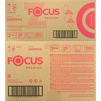 Полотенце бумажное листовое 2-сл 200 лист/уп*12 200х240 мм Z-сложения FOCUS EXTRA БЕЛОЕ HAYAT 1/1 (арт. 5041537)