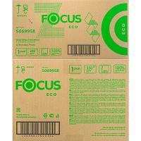 Полотенце бумажное листовое 1-сл 250 лист/уп*12 215х240 мм Z-сложения FOCUS EXTRA БЕЛОЕ HAYAT 1/1 (арт. 5044994)