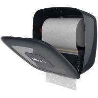 Диспенсер сенсорный для рулонных полотенец ДхШхВ 330х223х327 мм FOCUS ПЛАСТИК ЧЕРНЫЙ HAYAT 1/1 182348 (арт. 8076281)