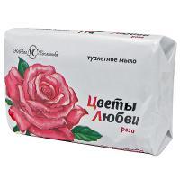 Купить мыло туалетное 90г 1 шт/уп цветы любви роза nc 1/6/72 в Москве