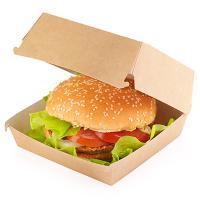 Купить упаковка для гамбургера дхшхв 115х115х60 мм крафт 1/50/150 в Москве