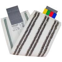 Купить насадка - моп (mop) для швабры ш 400 мм плоская с ушками микроплюс ультраспид про vileda 1/20 в Москве