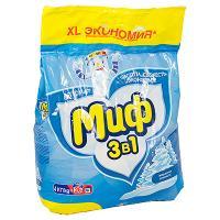 Купить порошок стиральный 4кг миф automat морозная свежесть в п/п p&g 1/4 в Москве