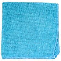 Купить салфетка микроволоконная дхш 350х350 мм без упаковки синяя textop 1/50/200 в Москве