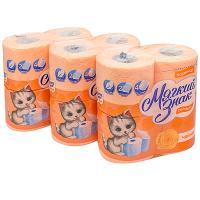 Купить набор бумаги туалетной 2-сл 4 рул/уп*3 мягкий знак comfort чайная роза сцбк 1/1 в Москве