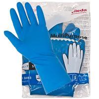 Купить перчатки хозяйственные s многоцелевые латекс голубые vileda 1/10/50 в Москве