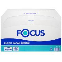 Купить покрытие бумажное 250 шт/уп для сиденья на унитаз focus белое hayat 1/10 в Москве