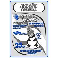"""Купить реагент антигололедный до -25 с° 25кг пешеход """"аквайс"""" 1/1 в Москве"""