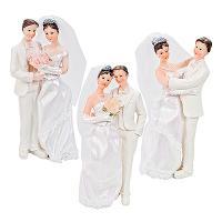 Купить фигурка для торта н160 мм жених и невеста modecor 1/6 в Москве