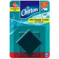 Купить освежитель wc 1 шт/уп кубик для бачка chirton альпийская свежесть gd 1/24 в Москве