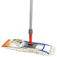 Купить швабра для пола ш 400 мм уценка! (некачественное окрашивание) плоская с карманами cotton maxi mop hunter 1/12 в Москве