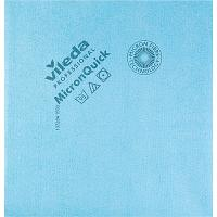 Купить салфетка микроволоконная (микрофибра) дхш 400х380 мм микронквик голубая vileda 1/5/100 в Москве