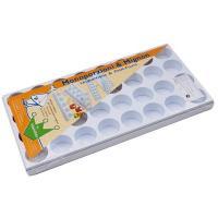 Купить форма кондитерская круг для маленьких пирожных mignon пластиковая martellato 1/1 в Москве
