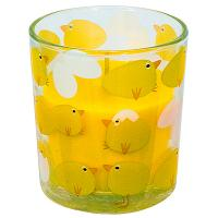 Купить свеча н80хd71 мм в стекле желтая papstar 1/12 в Москве