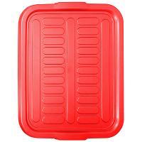 Купить крышка дхшхв 510х420х25 мм для ящика красная пластик bora 1/1 в Москве