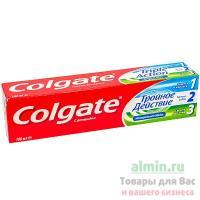 Зубная паста COLGATE 100мл тройное действие COLGATE-PALMOLIVE 1/12