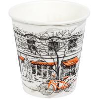 Купить стакан бумажный 250мл d80 мм 1-сл для горячих напитков big city life pps 1/50/1000 в Москве