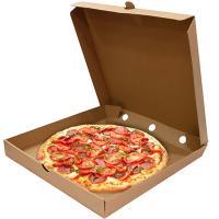 Купить коробка для пиццы дхшхв 330х330х40 мм квадратная картон крафт 1/50 в Москве