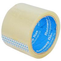 Купить лента клейкая упаковочная ш 75 мм 50 м/рул стандарт прозрачная 1/4/48 в Москве