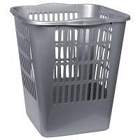 Купить корзина мусорная 11.5л дхшхв 265х250х288 мм пластик темно-серая bora 1/28 в Москве
