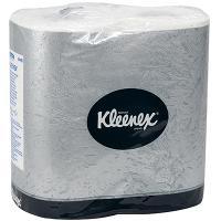 Купить бумага туалетная 2-сл 4 рул/уп kleenex белая kimberly-clark 1/24 в Москве