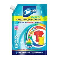 Купить средство для стирки жидкое 1л для цветных тканей chirton doy-pack gd 1/6 в Москве
