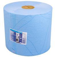 Купить материал протирочный бумажный 2-сл 255 м в рулоне н340хd235 мм tork синий sca 1/2 в Москве