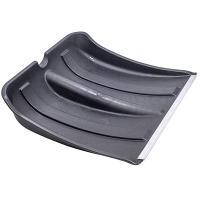 Купить лопатка снегоуборочная дхш 370х360 мм с наконечником без черенка пластик мультипласт 1/1 в Москве