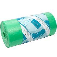 Купить мешок (пакет) мусорный 120л 700х1100 мм 20 мкм пнд зеленый almin 1/50/600 в Москве