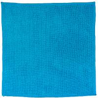 Купить салфетка микроволоконная (микрофибра) дхш 300х300 мм без упаковки синяя онм 1/10/400 в Москве