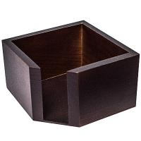 Купить салфетница дхшхв 120х120х70 мм дерево коричневая 1/6 в Москве