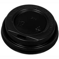 Купить крышка для стакана d73 мм с открытым питейником ps черная 1/100/1000 в Москве