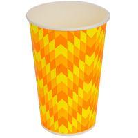 Купить стакан бумажный 400мл d90 мм 1-сл для холодных напитков зиг-заг v 1/50/800 в Москве