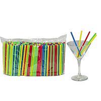 Купить соломка (трубочка) для коктейля н125хd5 мм 400 шт/уп pp цветная 1/50 в Москве
