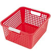 Купить корзинка дхшхв 258х223х125 мм пластик красная bora 1/48 в Москве