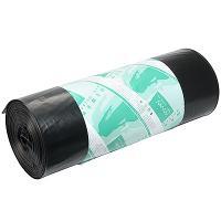 Купить мешки (пакеты) для мусора 180л 900х1100 мм 70 мкм 25 шт/рул пвд черный almin 1/10 в Москве
