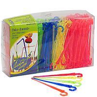 Купить пика декоративная зонт н90 мм 300 шт/уп для канапе пластик разноцветная пласт-лидер 1/35 в Москве