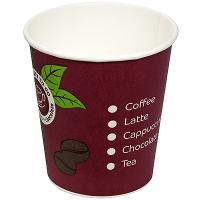 Купить стакан бумажный 175мл d74 мм 1-сл для горячих напитков coffe-to-go huhtamaki 1/100/2000 в Москве