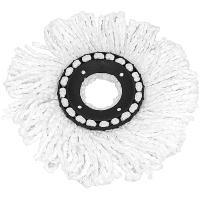 Купить насадка - моп (mop) для швабры веревочная spingo микрофибра белая hunter 1/60 в Москве