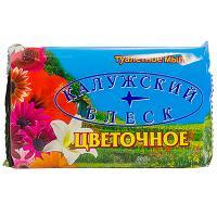 Купить мыло туалетное 90г 1 шт/уп калужский блеск цветочное кб 1/72 в Москве