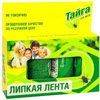 Купить средство от мух 4 шт/уп ловушка клеевая тайга gf 1/36 в Москве