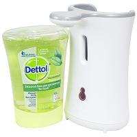 Купить мыло жидкое 250мл прозрачное dettol в диспенсере benckiser 1/4 в Москве