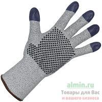 Купить перчатки рабочие 7 нитей с пвх (точка) размер 9 g60 хб+dyneema серые kimberly-clark 1/12 в Москве