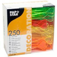 Купить пика декоративная сердце н85 мм 250 шт/уп для канапе пластик разноцветная papstar 1/16 в Москве