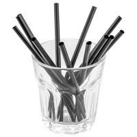 Купить соломка (трубочка) для коктейля н125хd5 мм 400 шт/уп pp черная papstar 1/8 в Москве