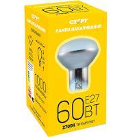 Купить лампа накаливания е27 теплый свет 60вт 220v r63 зеркальная старт 1/10 в Москве